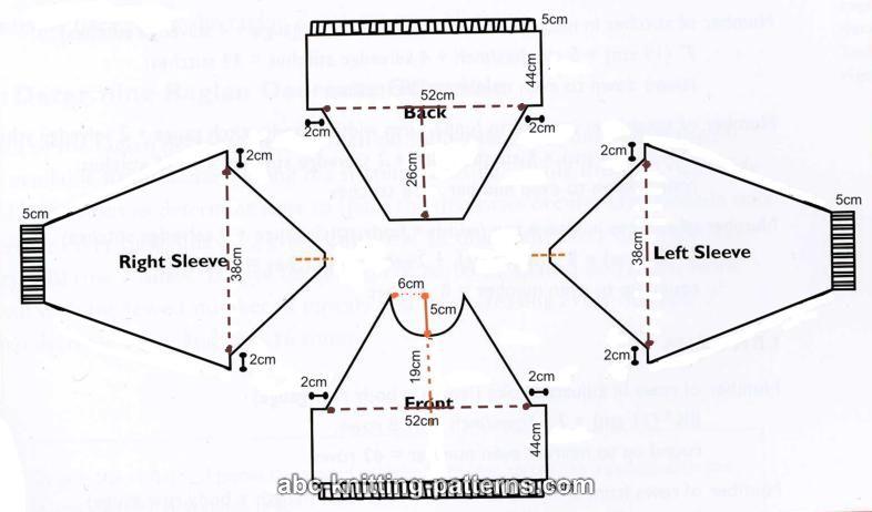 Knitting Pattern Diagram Rows