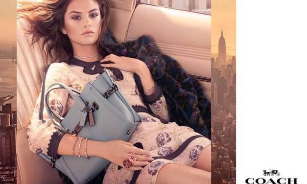 Les premières images de la campagne Coach avec Selena Gomez, dévoilées