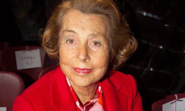 Liliane Bettencourt s'est éteinte