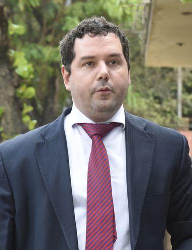 Hugo Volpe, ahora ex viceministro de Política Criminal.