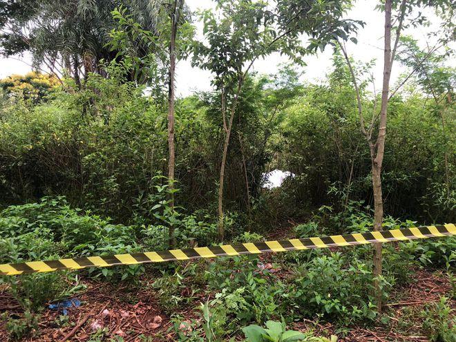 Zona en la que fueron hallados los cuerpos.