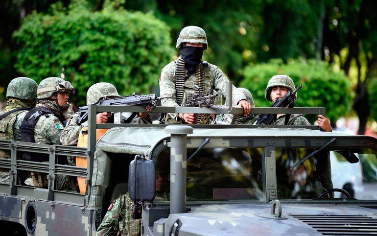 La violencia en   Sinaloa, México, tras la captura y posterior liberación del narcotraficante Ovidio Guzmán demostró  que esta región mexicana está controlada por el crimen organizado. (AFP)