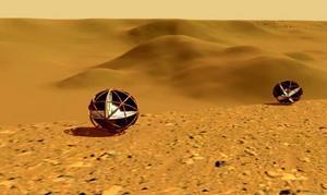 Las pelotas gigantes que pueden conquistar Marte
