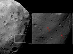 Las imágenes más detalladas nunca vistas de una luna de Marte