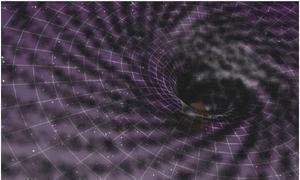 Los agujeros negros no comen materia oscura