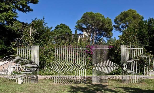 Escultura de José María Labra, instalada en los Jardines de Cala Ratjada. ABC.es