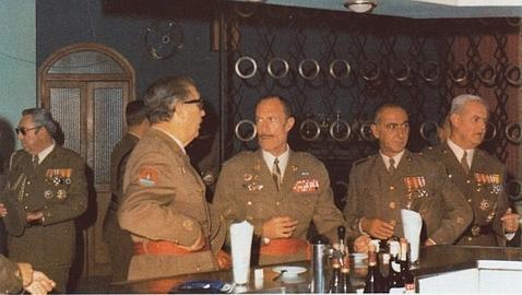 El padre de Chaves, aquel fiel coronel de Franco