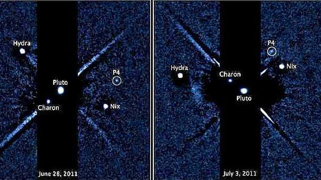 Descubren una cuarta luna alrededor de Plutón