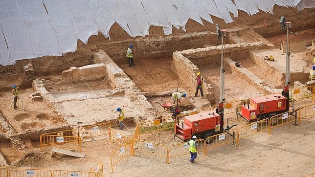 Barcelona descarta conservar la villa romana de La Sagrera