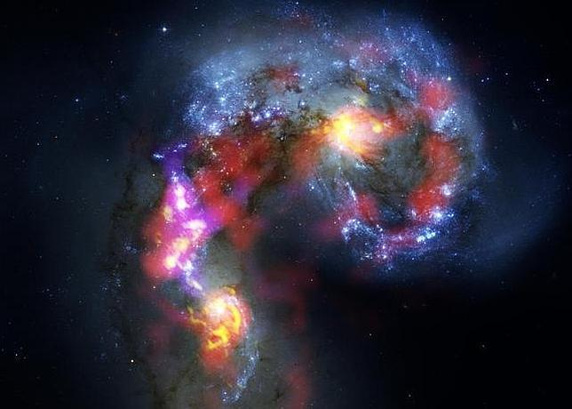La primera imagen del «alma» del Universo