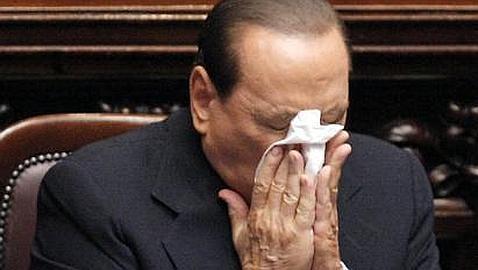 Berlusconi evocó la posibilidad de arrasar el Palacio de Justicia