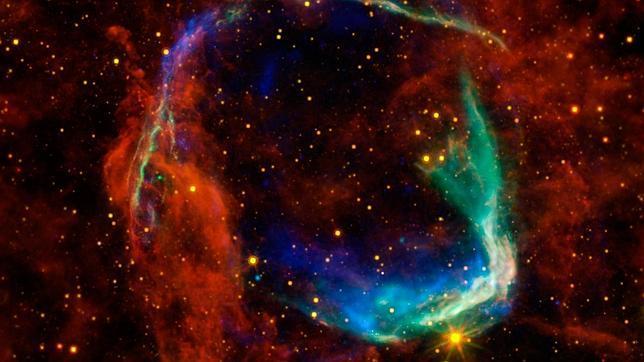 La Nasa recrea la primera supernova