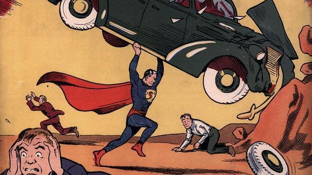 Subastan el primer ejemplar del cómic de Superman por 1,6 millones de euros