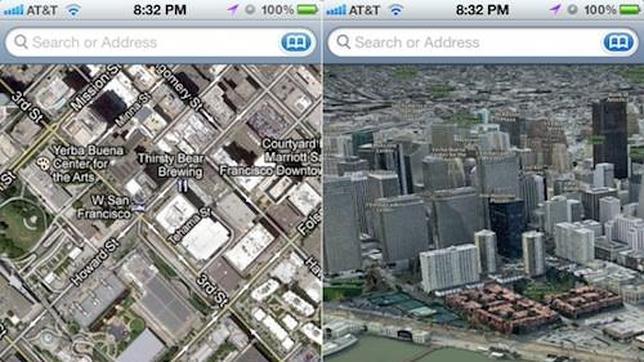 Apple se desconectará de Google Maps y estrenará Mapas en iOS 6