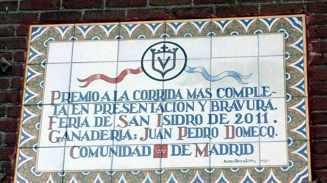 Juan Pedro Domecq: «Este premio en Las Ventas es un reconocimiento a un genio como fue mi padre»