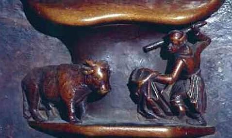 Los toros de la Edad Media