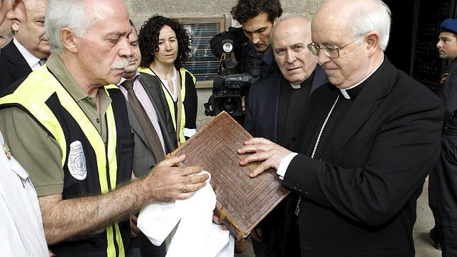 El Códice regresa este viernes a la Catedral compostelana