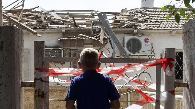 Dos cohetes caen en el sur de Israel hiriendo a siete personas