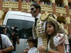 Padilla, a hombros en su vuelta a Zaragoza