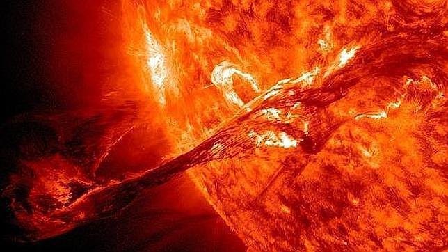 El culpable del «evento Carlomagno», una llamarada solar extrema