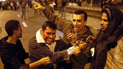 Cinco civiles muertos en los enfrentamientos entre partidarios y detractores de Morsi en Egipto