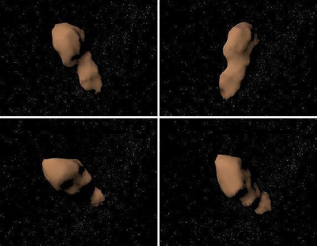 El asteroide Tutatis se acerca a la Tierra
