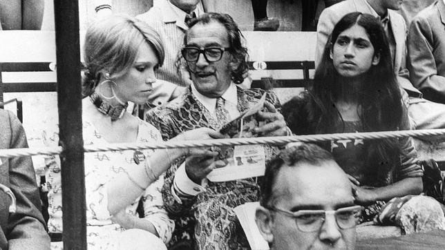 Dalí: «En una corrida podría morirme de una sobredosis de susto y gusto»