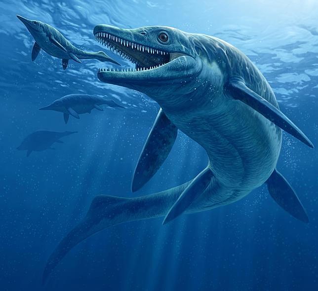 Hallan un «monstruo» marino del tamaño de un autobús y dientes como cuchillos