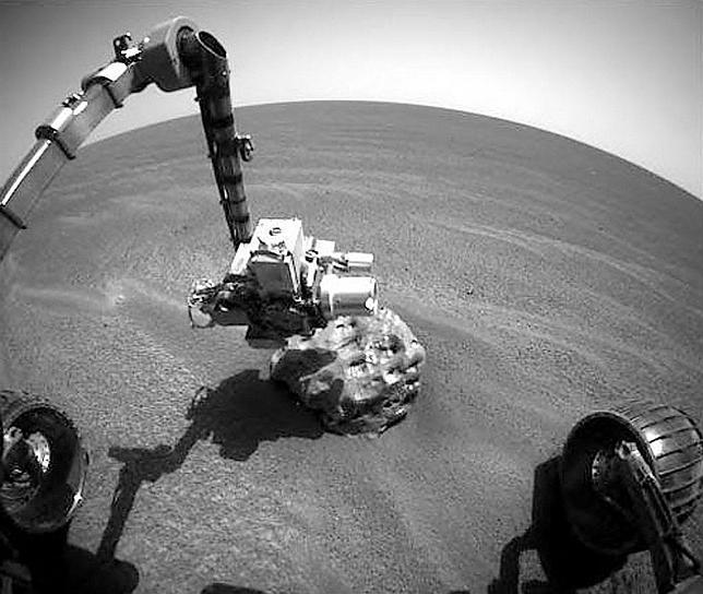 El increíble Opportunity, diez años sin parar en Marte