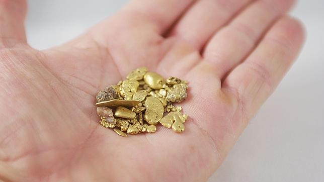 Una bacteria convierte toxinas en oro