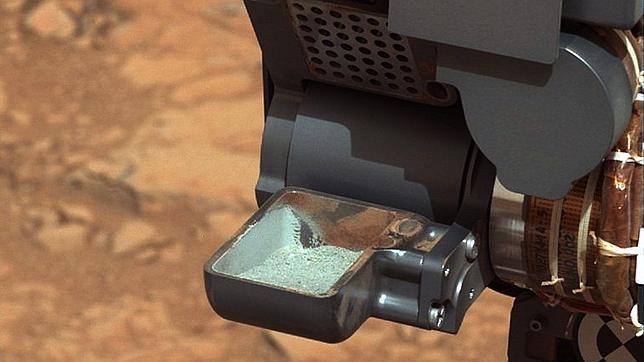 El Curiosity descubre que el interior de Marte es gris
