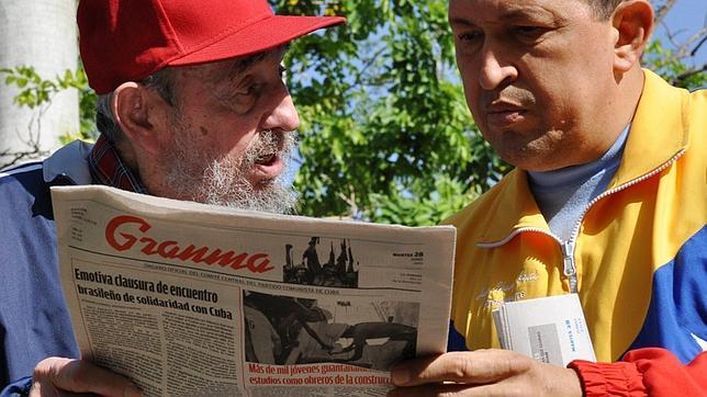 Fidel Castro se despide de Chávez, «el mejor amigo que tuvo el pueblo cubano»