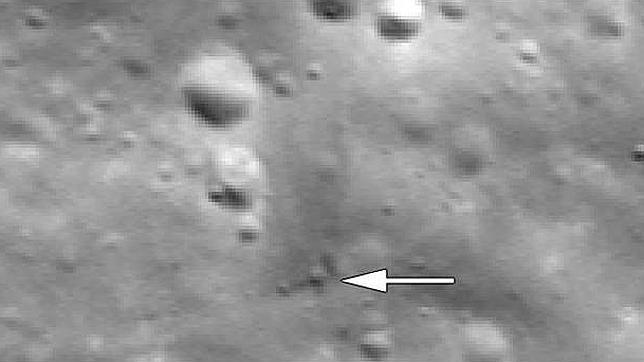 Encuentran los restos de las naves Grail en la Luna
