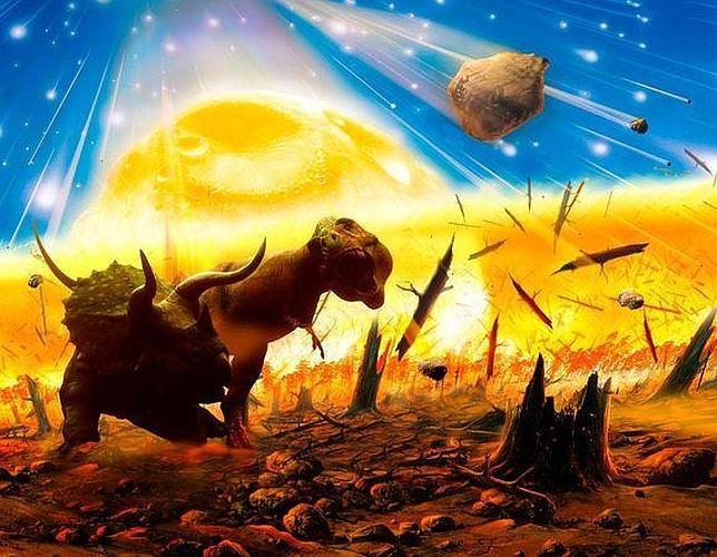 Un incendio planetario acabó con los dinosaurios tras el gran impacto