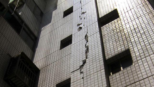 Un terremoto de 6 grados deja al menos 20 heridos en Taiwán