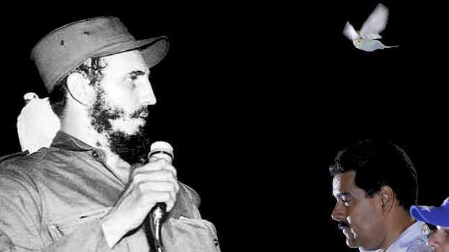 Un «pajarito» también bendijo a Fidel