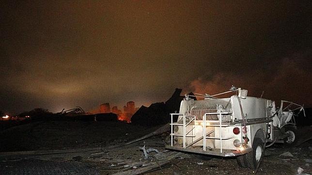 La explosión de Texas causó un seísmo de 2,1 grados