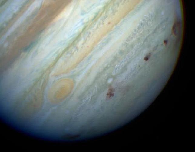 Júpiter conserva agua del gran impacto de un cometa hace 20 años