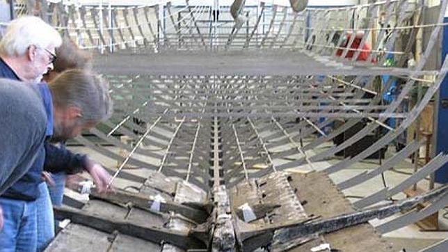 La lancha de desembarco vikingo, el mayor barco de su historia, lista para exponerse