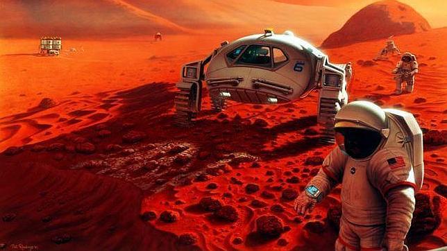 NASA: «Nuestro destino es enviar seres humanos a Marte»