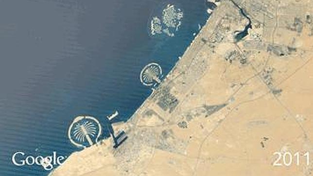 Cómo ha cambiado la Tierra, a vista de pájaro con Google Earth