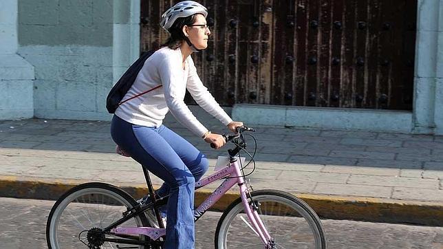 Apuesta por el casco para ciclistas