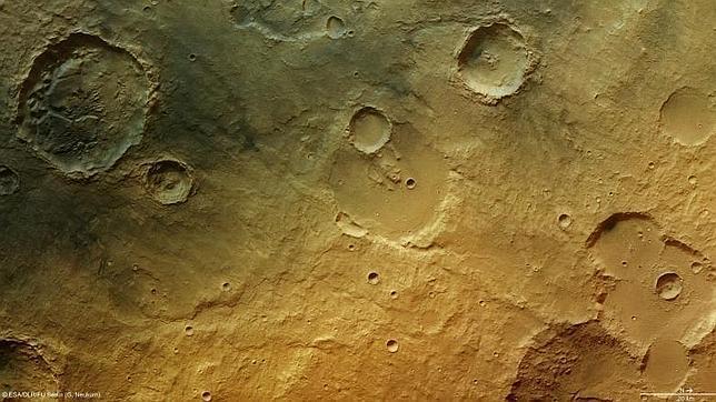 Nuevas evidencias de la presencia de agua en Marte