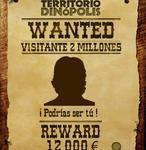 El parque turolense Dinópolis recibe a su visitante dos millones y le premia con 12.000 euros