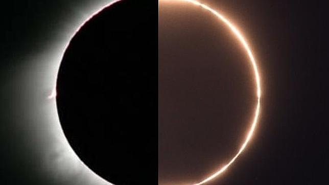Cinco claves para ver el eclipse de Sol híbrido del domingo