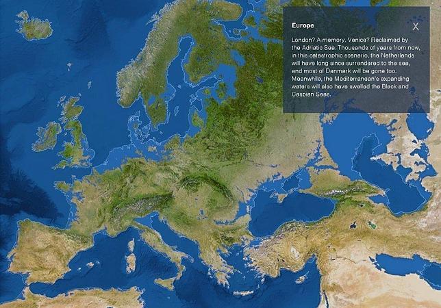 El mar se tragará Barcelona dentro de 5.000 años por el calentamiento global