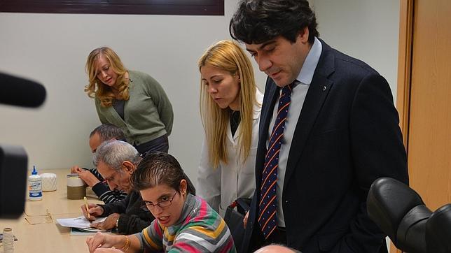 El alcalde David Pérez visitó las nuevas instalaciones.