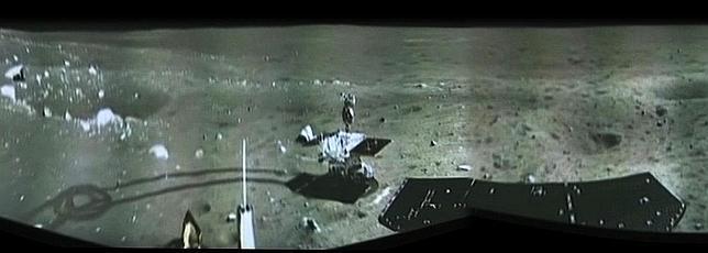 La sonda china envía su primera panorámica de la Luna