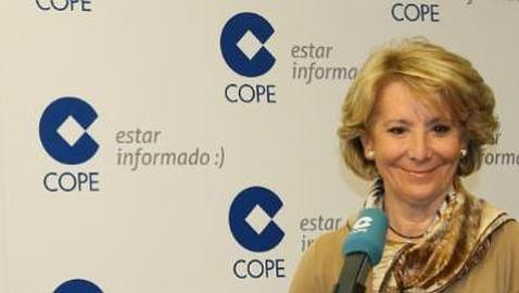 Esperanza Aguirre: «Los Premios Goya se han convertido en una gala contra el PP»