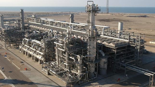 Resultado de imagen de planta de licuefacción de Damietta,